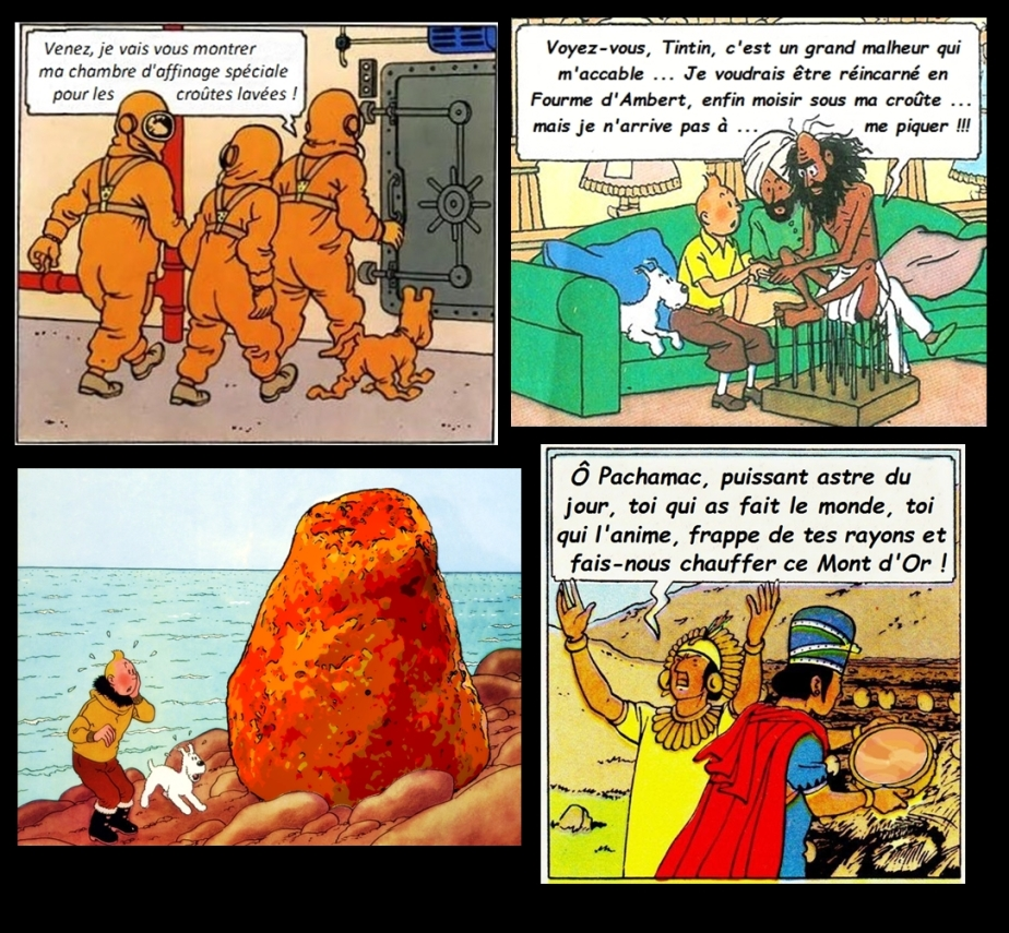 Tintin au pays des fromages